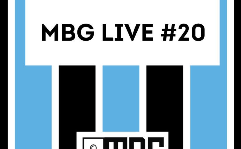 MBG Live #20 - Brasileirão e Copa do Brasil